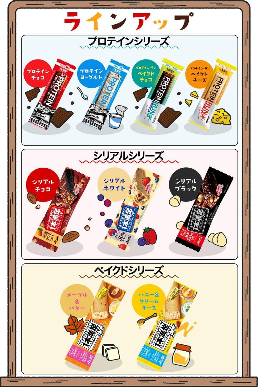 Asahi(アサヒグループショクヒン) 1本満足バープロテインの商品画像7
