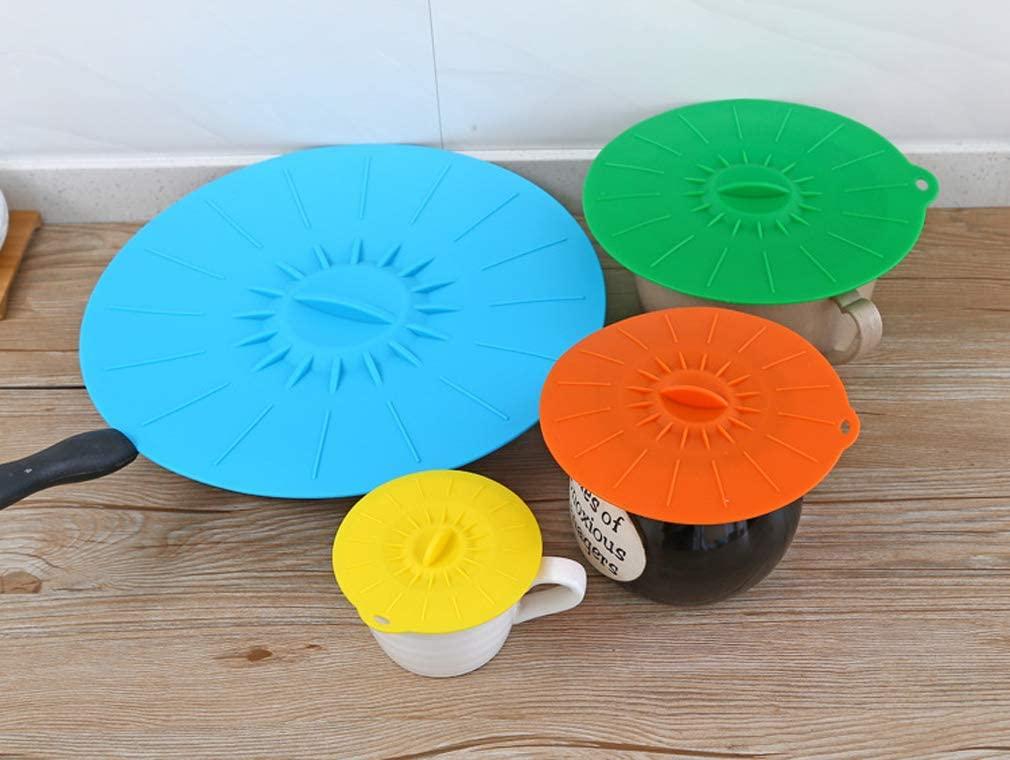 Olive-G(オリーブジー)多機能 耐冷耐熱 シリコン蓋 5枚セットの商品画像2