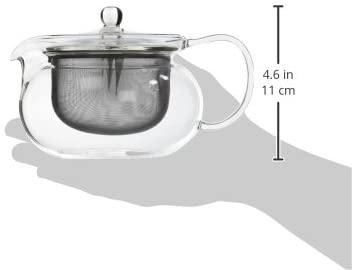 HARIO(ハリオ) 茶茶急須 丸 CHJMN-45T クリアの商品画像2