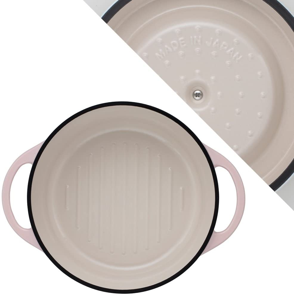 VERMICULAR(バーミキュラ) オーブンポットラウンド22cm パールピンクの商品画像3