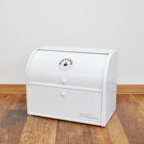 ハット ストレイジ スチール ボックスLL ダブル ホワイトの商品画像