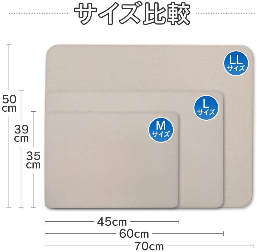 IRIS OHYAMA(アイリスオーヤマ)速乾快適バスマットの商品画像6