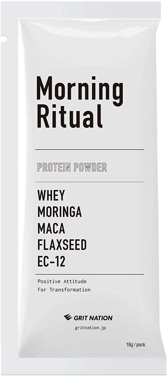 Morning Ritual(モーニングリチュアル) プロテイン パウダーの商品画像
