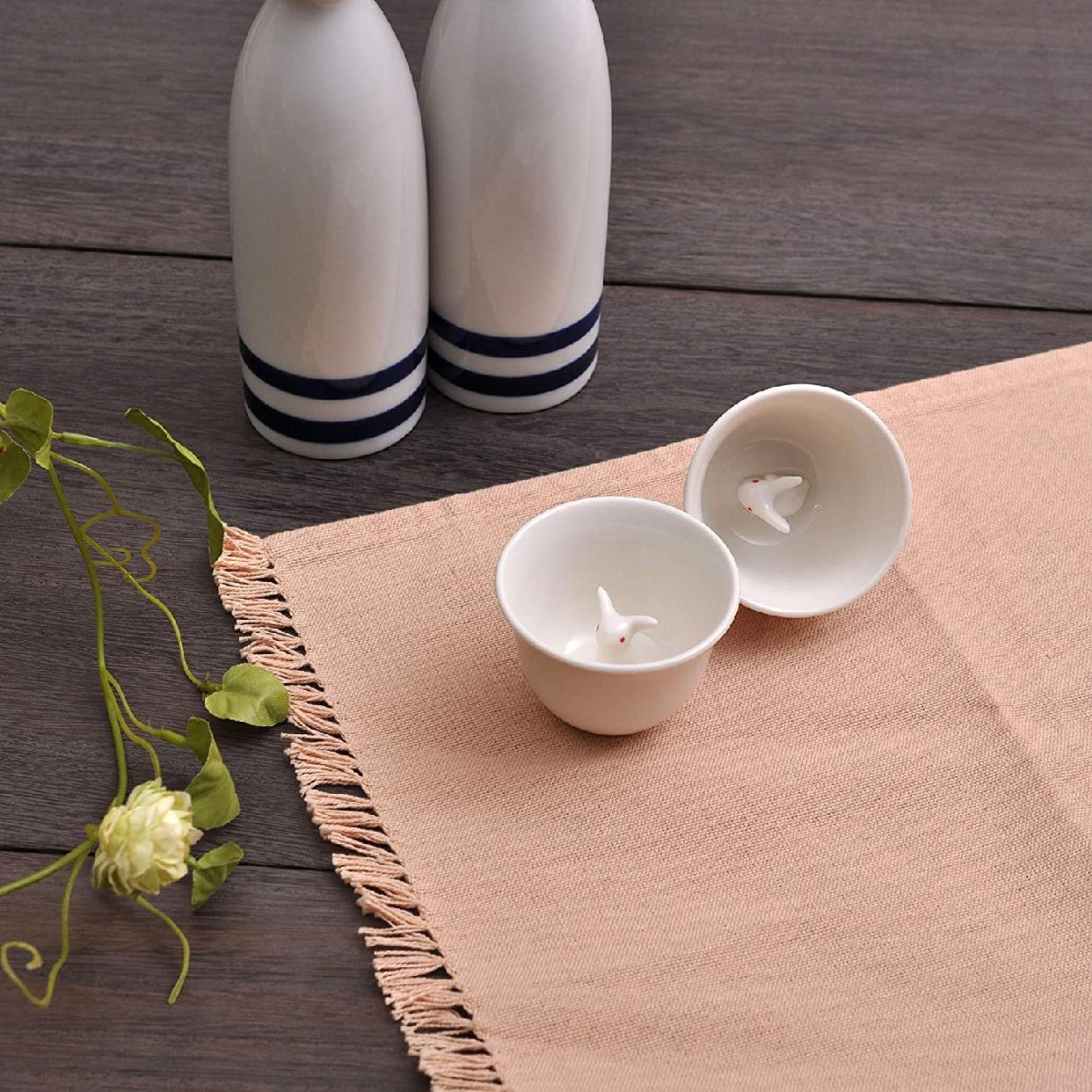 bloom(ブルーム)美濃焼 ミニうさぎ ペア おちょこ セットの商品画像5