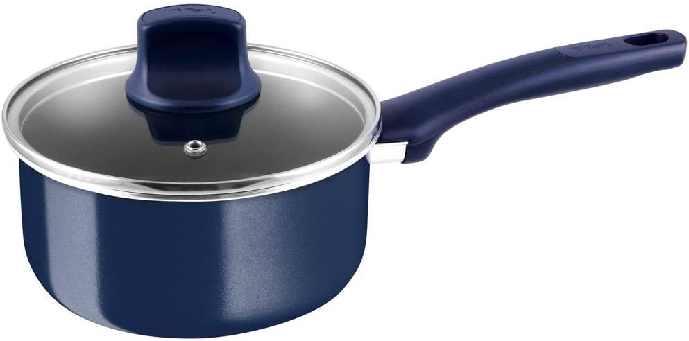 T-fal(ティファール)ソースパン 片手鍋 18cm グランブルー・プレミア D55123の商品画像