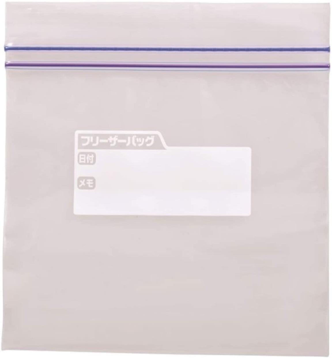JAPACK'S(ジャパックス) Wジッパーフリーザーバッグ (大)  徳用 WF-13の商品画像6