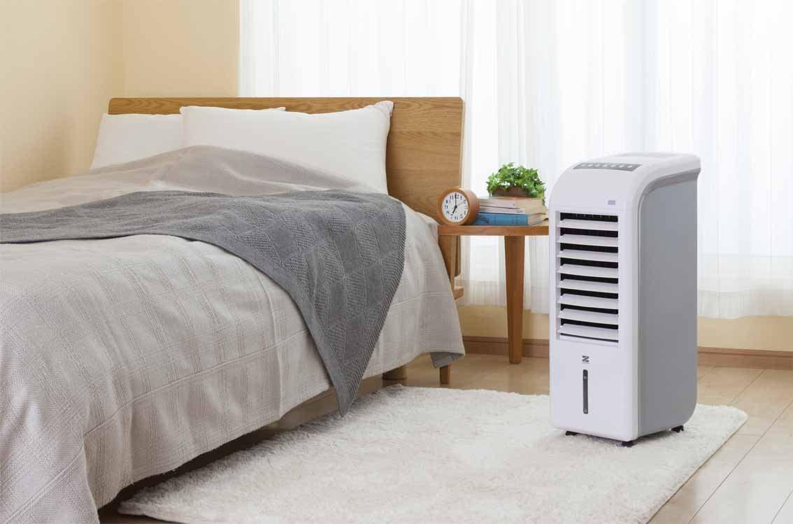ゼンケン スリム温冷風扇 ヒート&クール ZHC-1200の商品画像4