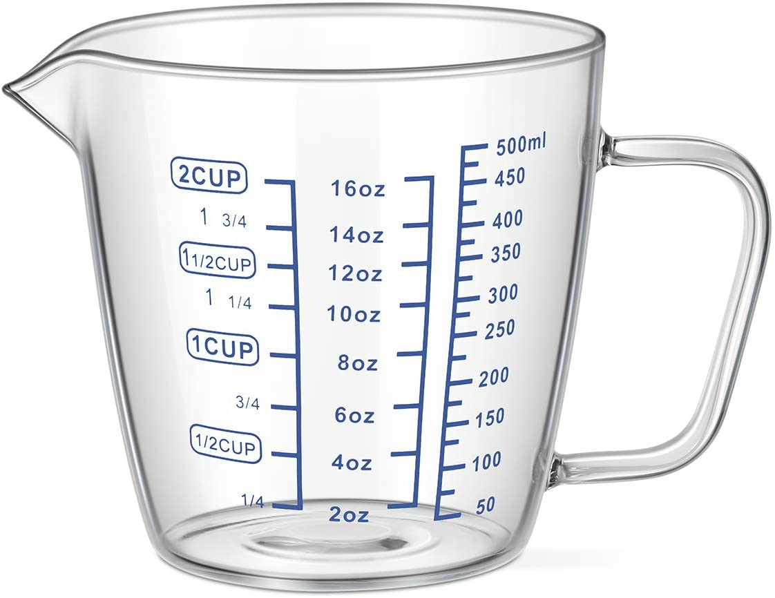 OUNONA メジャーカップ 500mlの商品画像