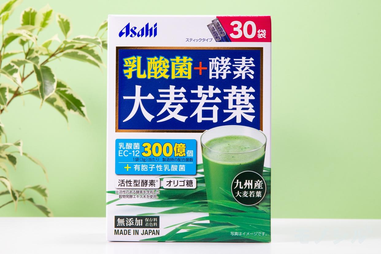位:アサヒグループ食品(Asahi) 乳酸菌+酵素 大麦若葉