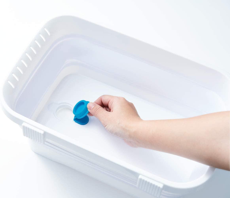 伊勢藤 折りたたみ洗い桶 キッチンソフトタブ 6.6L I-590の商品画像5