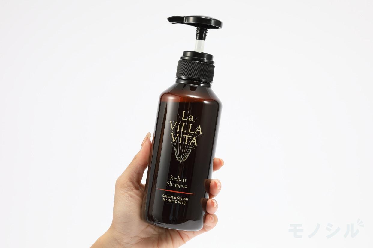 La ViLLA ViTA(ラ・ヴィラ・ヴィータ)リ・ヘア シャンプーSの手持ちの商品画像