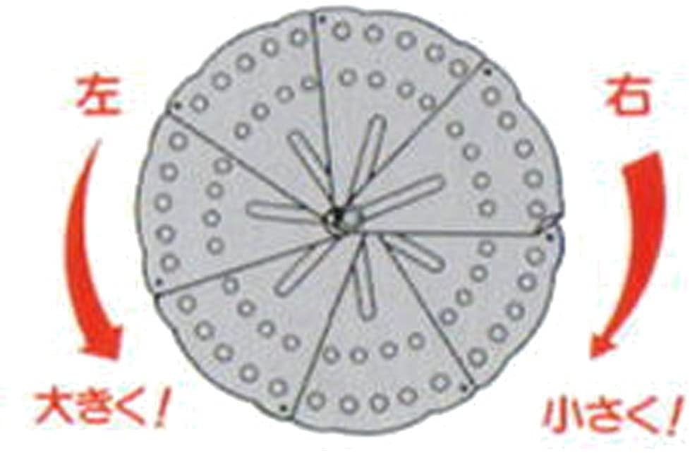 ナガオ落とし蓋でR フリーサイズ 最大23cm シルバーの商品画像3