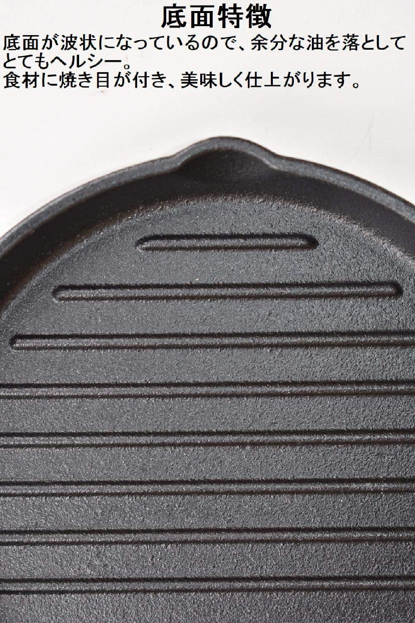 イシガキ産業(いしがきさんぎょう)スキレット グリルパン 18cmの商品画像10
