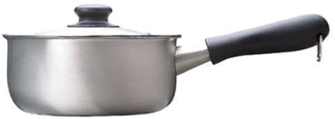 柳宗理(やなぎそうり)ステンレス・アルミ三層鋼 片手鍋18cm IH対応 つや消しの商品画像3