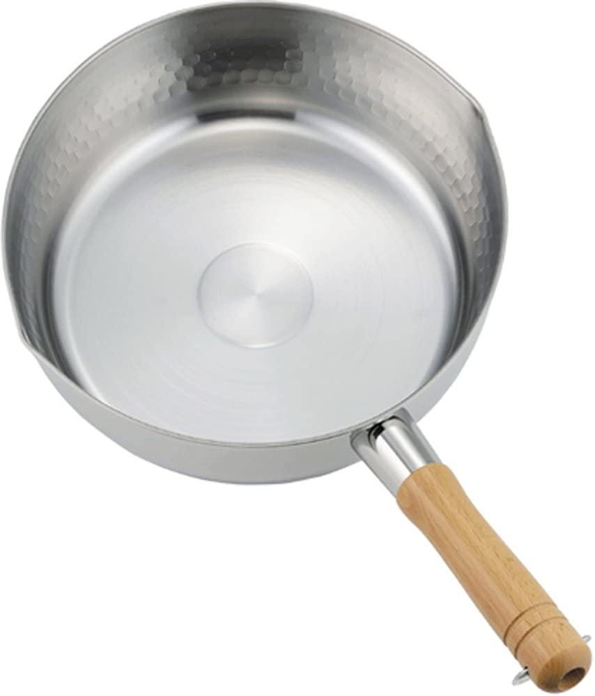 下村企販 ゆきひら鍋 24cm プロモデル 槌目 IH対応 日本製 34054 シルバーの商品画像2