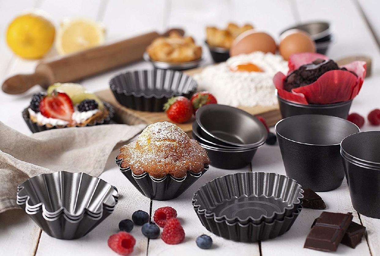 Maxi Nature Kitchenware(マキシィナチュレキッチンウェアー)マフィンカップ 6個セット 8cmの商品画像2