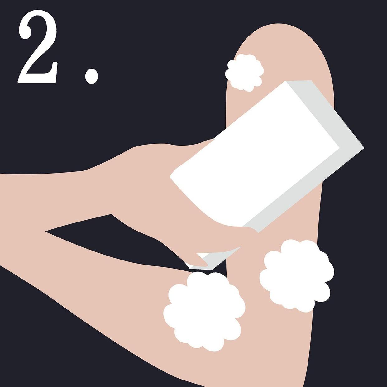 ペリカン石鹸(PELICAN SOAP) 二の腕ザラザラを洗う重曹石けんの商品画像4