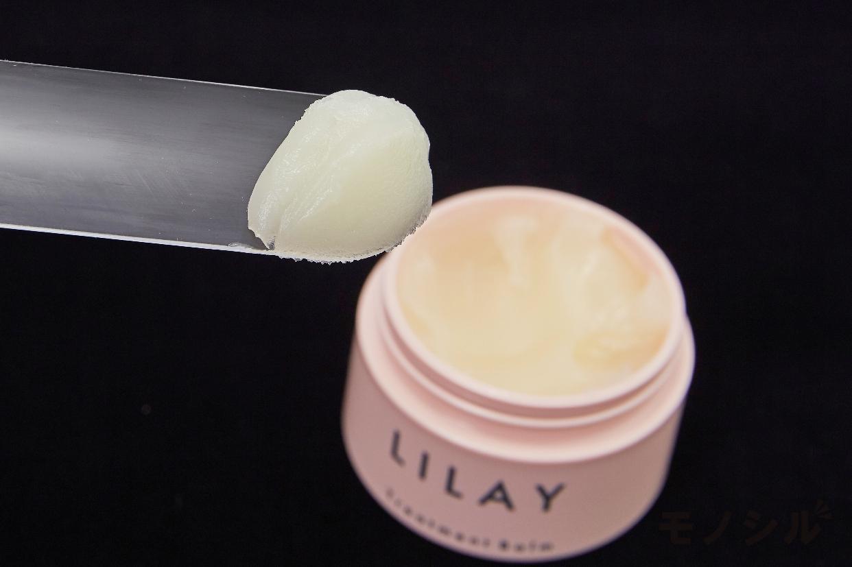LILAY(リレイ) トリートメントバームのテクスチャーと伸びのよさの検証2