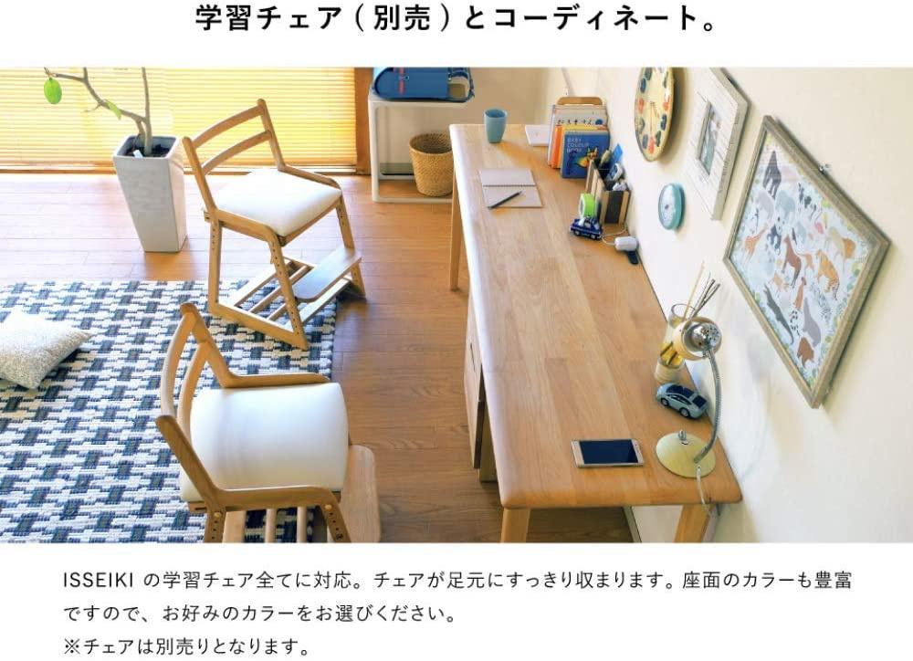 ISSEIKI(イッセイキ) キッズ エリス 180ツインデスクの商品画像5