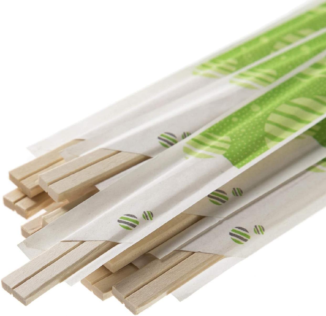 HouseLab(ハウスラボ)元禄割箸 袋入り 100膳 AR-002 20.5cmの商品画像3
