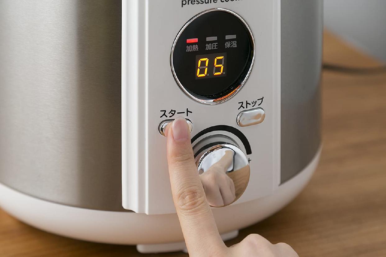 アルファックス・コイズミ電気圧力鍋 LPC-T20の商品画像10