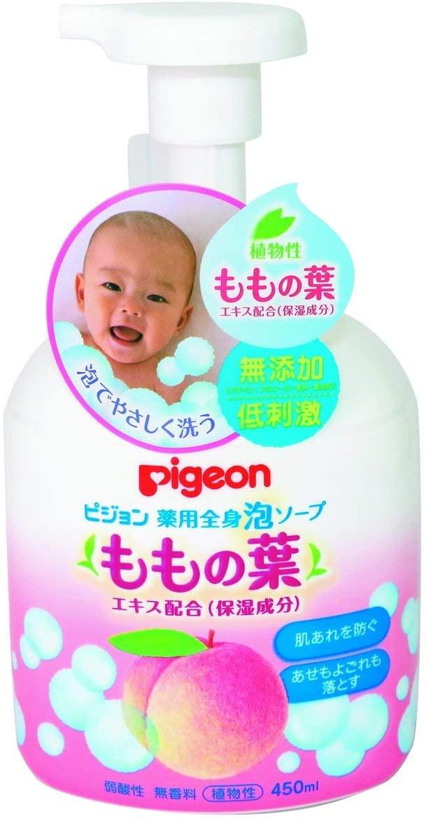 pigeon(ピジョン) 薬用全身泡ソープ(ももの葉)の商品画像