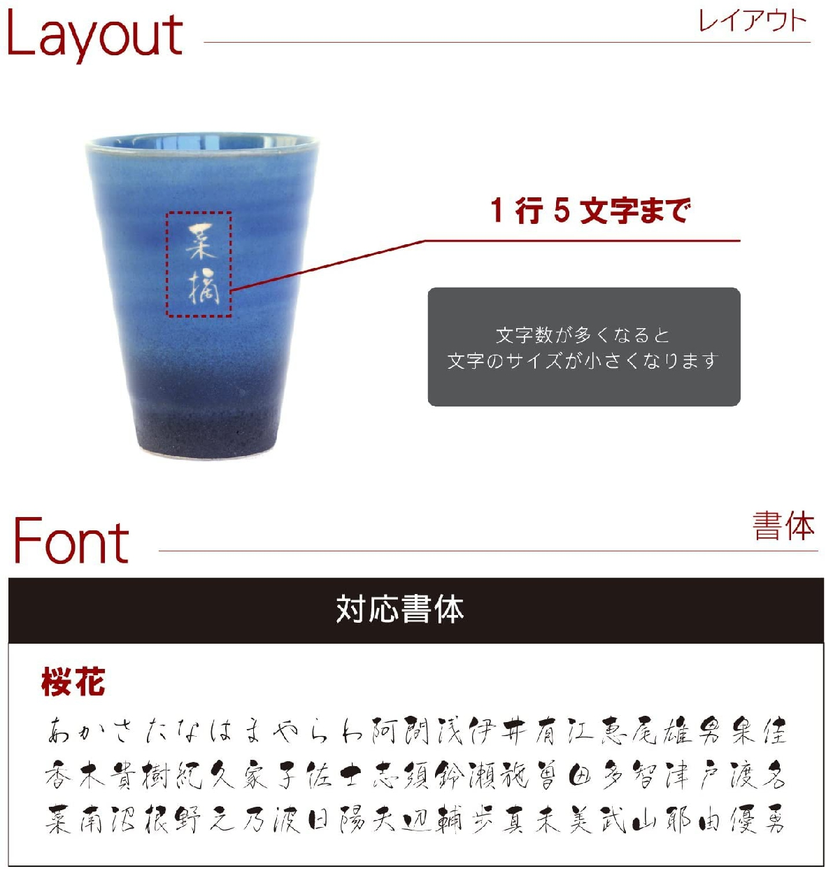 きざむ 名入れ 信楽焼 GemCup(ジェムカップ)  エメラルドグリーンの商品画像3