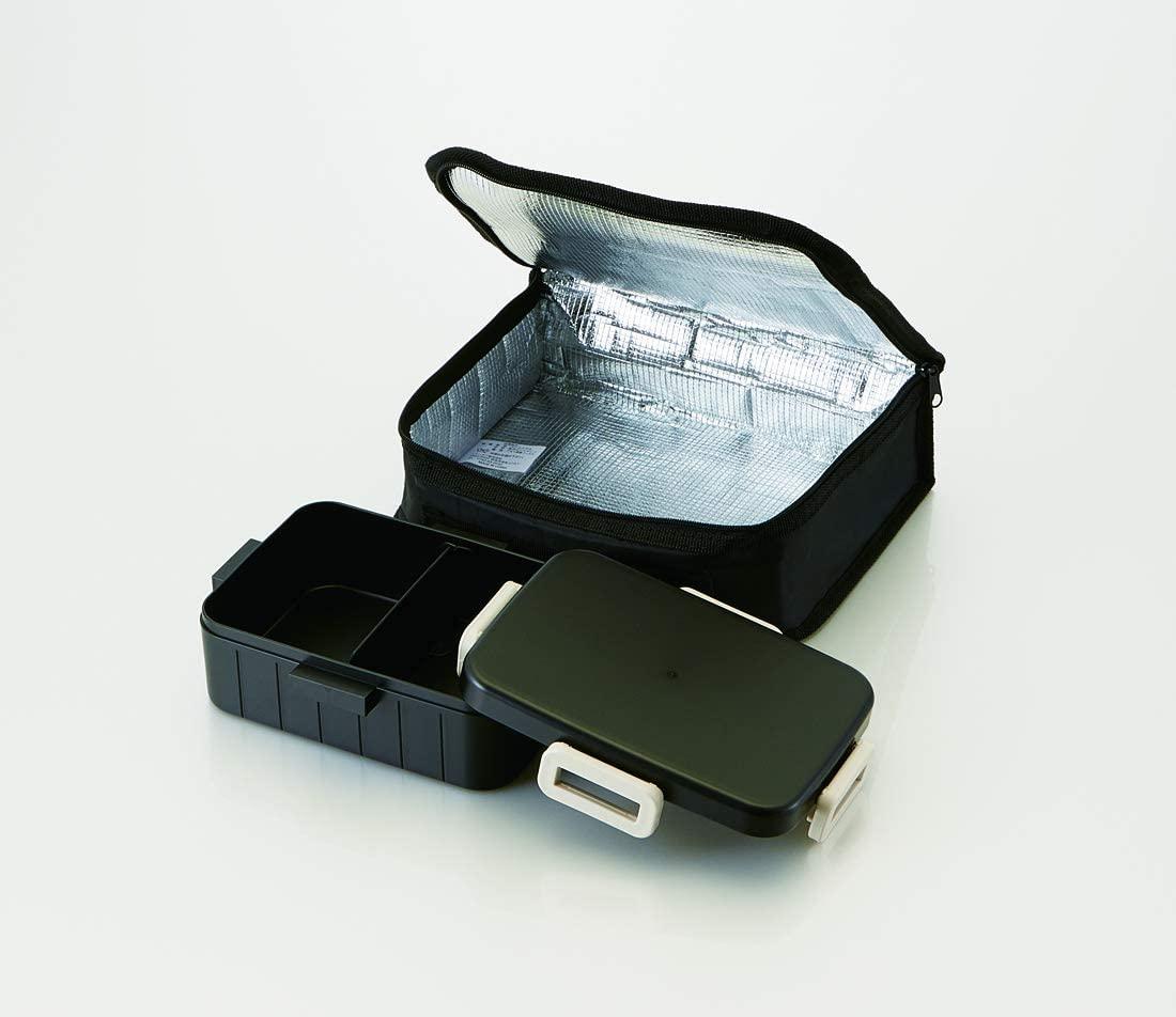 Next Style(ネクストスタイル) 4点ロック 弁当箱 600ml 保冷バック付き YZFL7の商品画像2