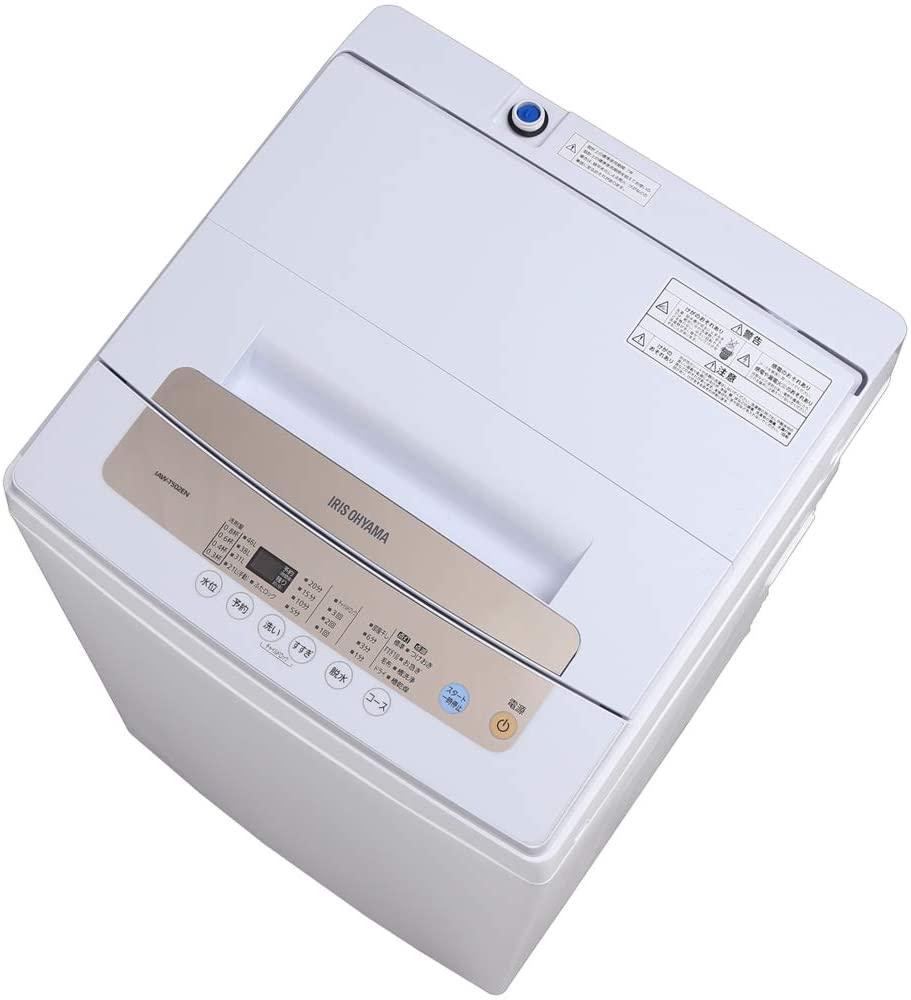 IRIS OHYAMA(アイリスオーヤマ) 全自動洗濯機 5.0kg IAW-T502ENの商品画像