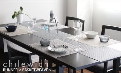 Chilewich(チルウィッチ)ランチョンマット MINI BASKETWEAVE gravelの商品画像2
