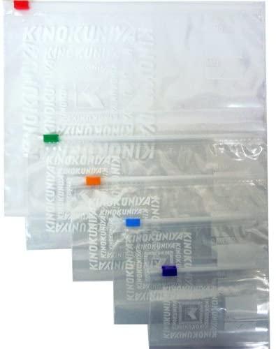紀ノ国屋(KINOKUNIYA) スライドジッパーバッグ 5タイプセットの商品画像2
