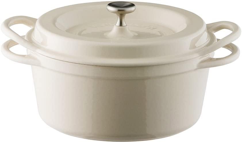 VERMICULAR(バーミキュラ) オーブンポットラウンド18cm ナチュラルベージュの商品画像
