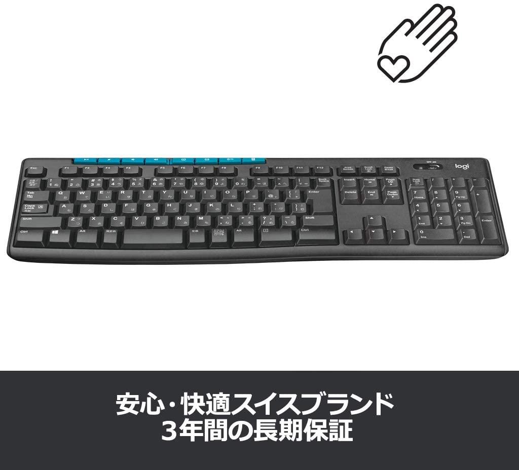 logicool(ロジクール) ワイヤレスキーボード K275の商品画像6