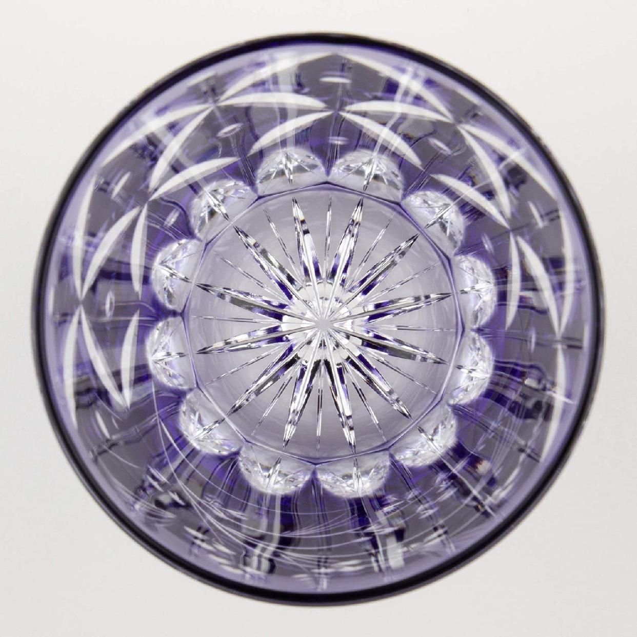 江戸切子 焼酎ロックグラス<萩とススキ> 230cc T557-2650CMPの商品画像3