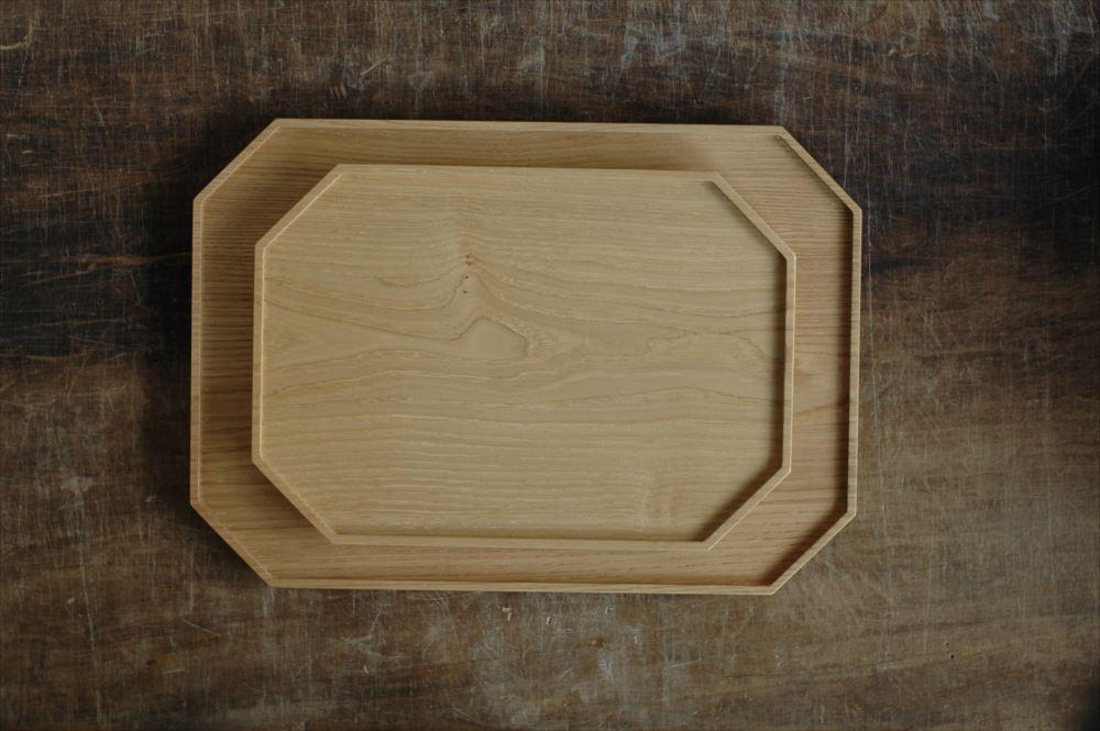 倉敷意匠計画室(くらしきいしょうけいかくしつ)栗の八角トレイLの商品画像3
