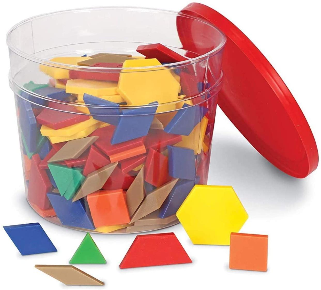 Learning Resources(ラーニングリソーシズ) パターンブロック LER0134の商品画像