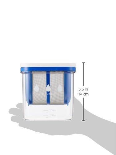 AKEBONO(アケボノ)水切りヨーグルトができる容器 ST-3000 ブルーの商品画像