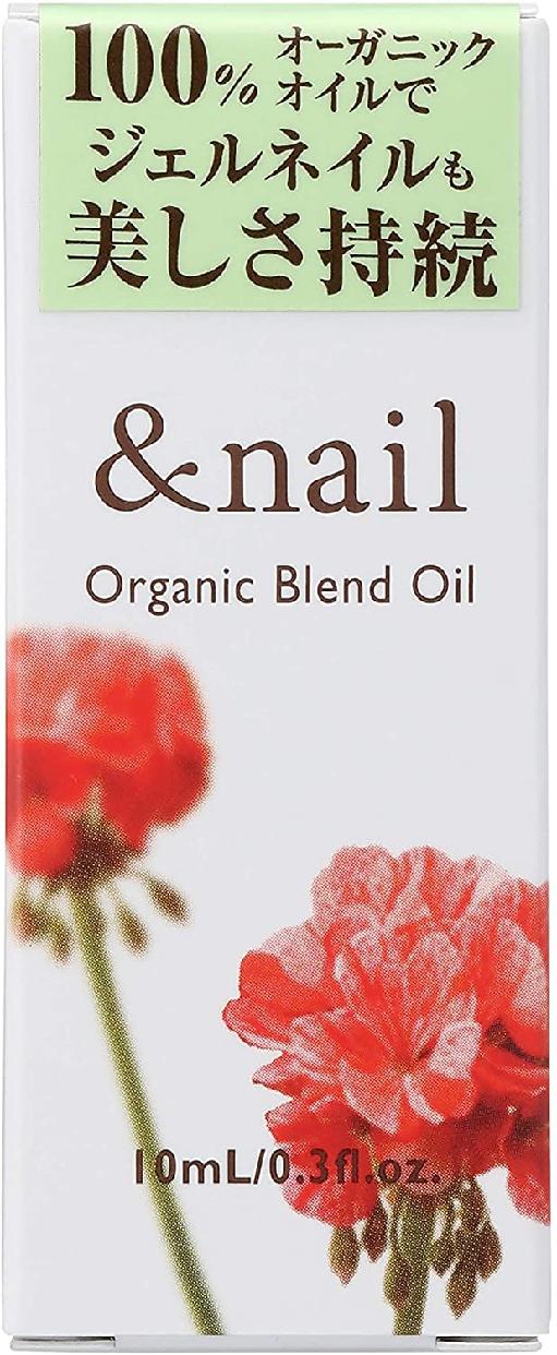 &nail(アンドネイル) オーガニックブレンドオイルの商品画像