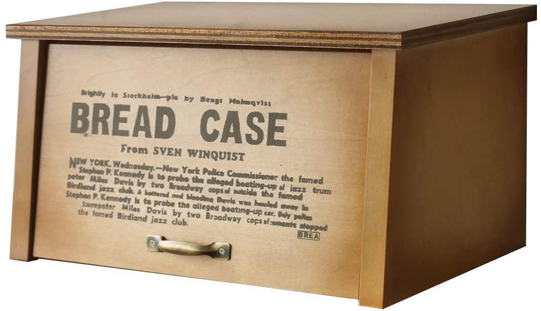 BREA(ブレア) ブレッドケース 木の扉 ブラウン BREA-1454の商品画像