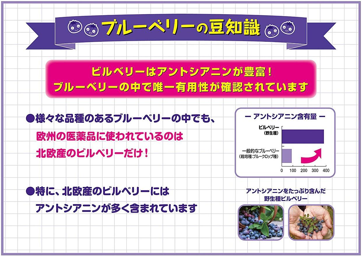 小林製薬(コバヤシセイヤク) ブルーベリーの商品画像5