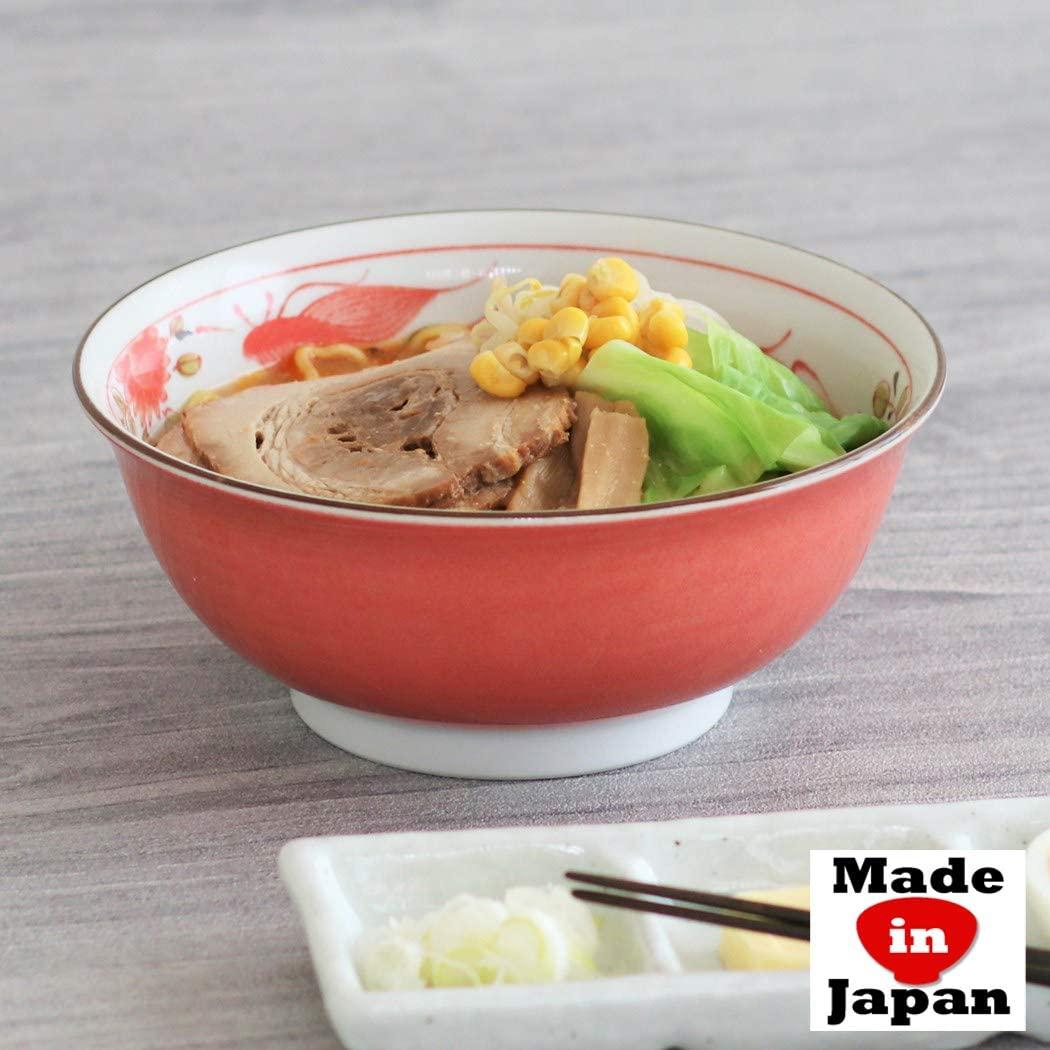みのる陶器 赤巻ラーメン丼 6.3寸の商品画像