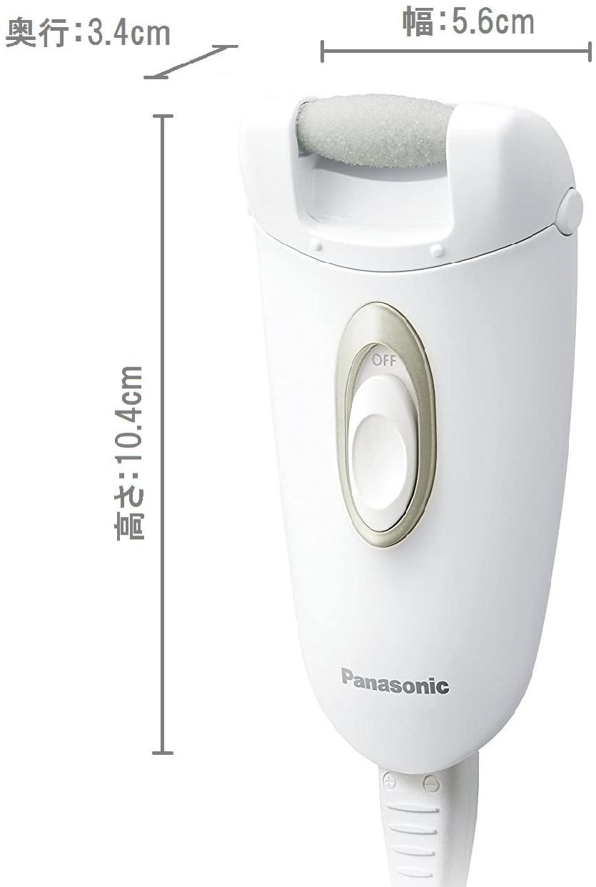 Panasonic(パナソニック) 角質クリア ES-WE22の商品画像3