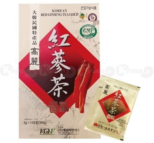 KGNF(ケージーエヌエフ) 高麗紅参茶の商品画像
