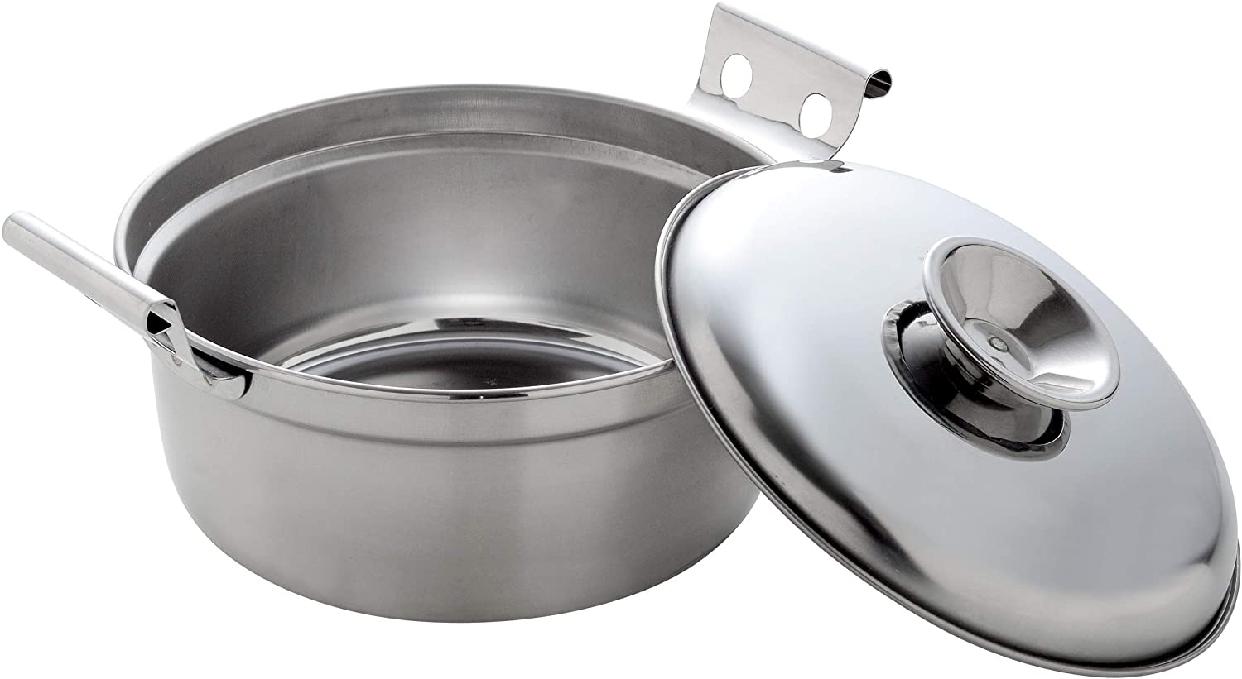 アーネスト両手鍋 20㎝ A-77043 ステンレスの商品画像2