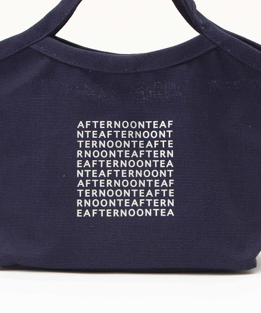 Afternoon Tea(アフタヌーンティー)ロゴ柄ランチバッグ ネイビーの商品画像17
