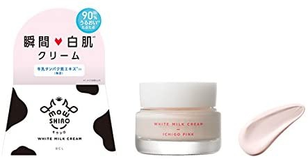 mowSHIRO(モウシロ) トーンアップクリーム いちごピンクの商品画像