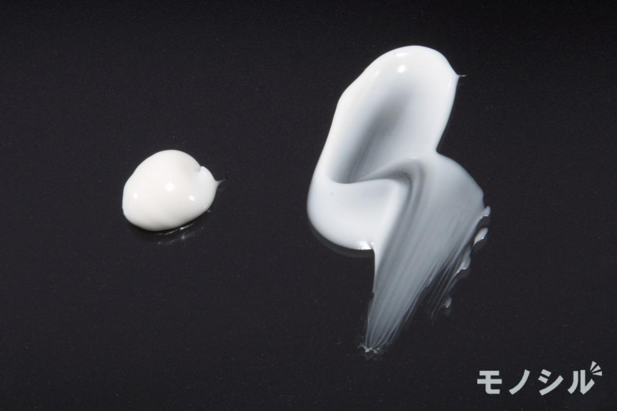 ちふれ美白クリーム ARの商品のテクスチャー