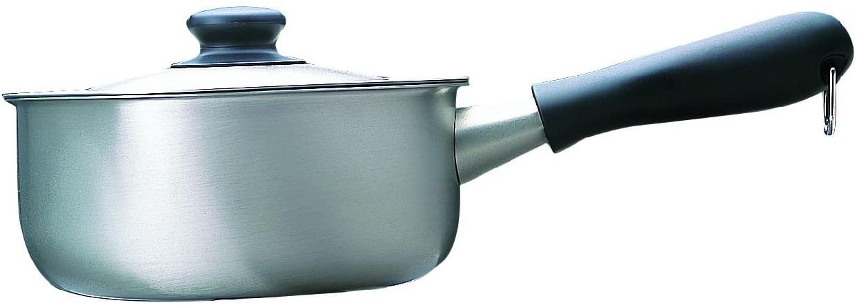 柳宗理(やなぎそうり)片手鍋 18cm ガス火専用 つや消しの商品画像2