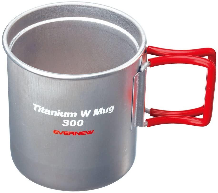 EVERNEW(エバニュー) チタンWマグカップ EBY269Rの商品画像