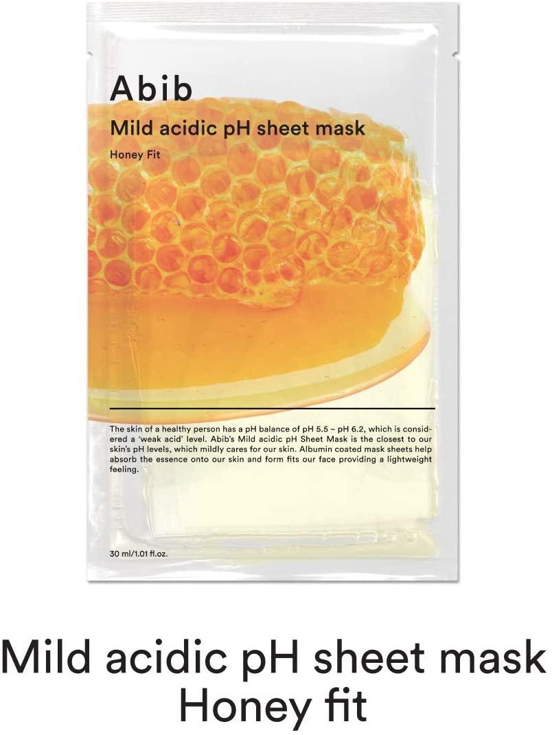 Abib(アビブ) マイルド アシディック ph シートマスク ハニー フィットの商品画像